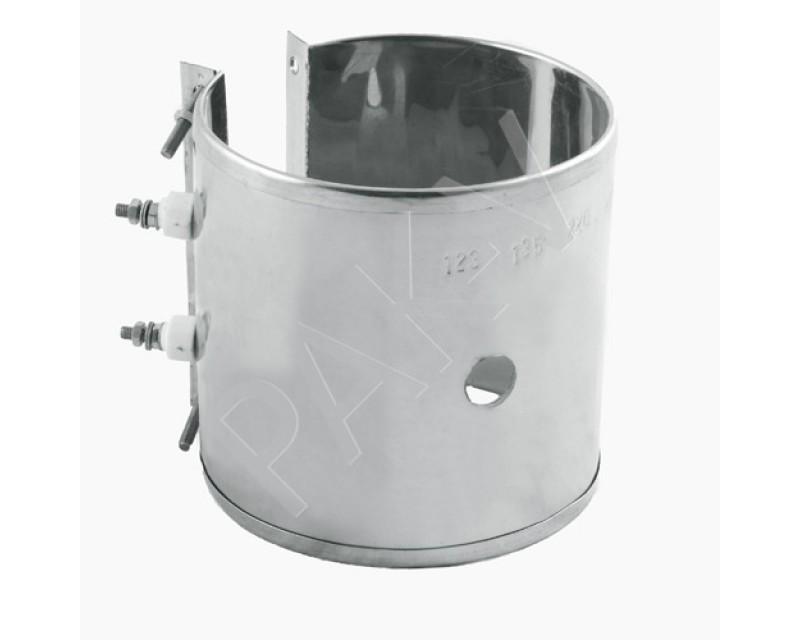Нагреватель металлический (хомутовый), 123х135 мм, 1500W с отв.