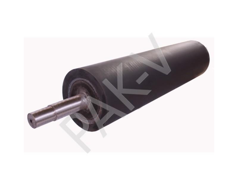 Вал тянущий резиновый L=700 х 120 мм; Lхв=300*25;120*30