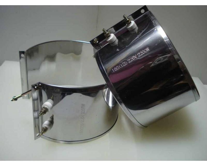 Нагреватель хомутовый 180*125 на узел фильтрации