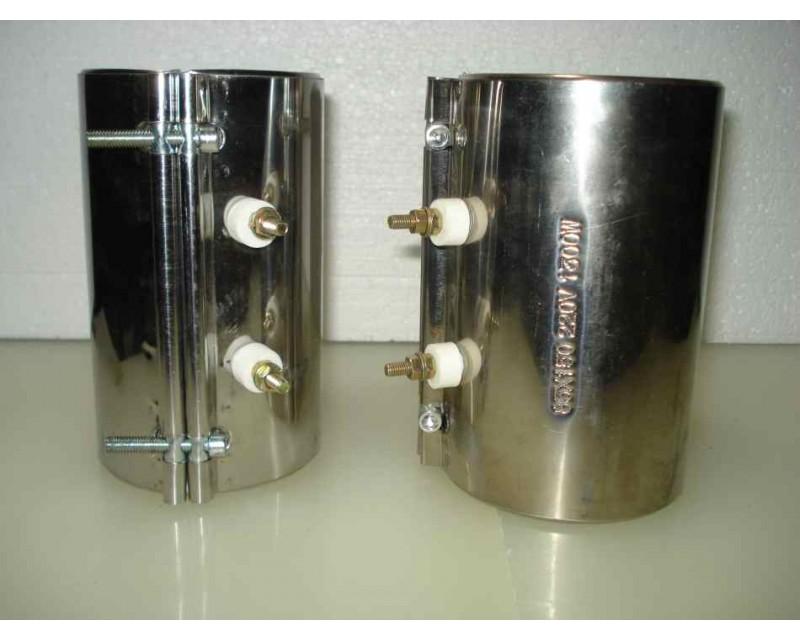Нагреватель металлический на шнек 85*150