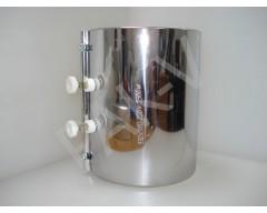 Нагреватель металлический 132*180 мм, 2300 W