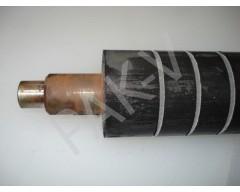 Вал резиновый (задний/верхний) L=600 мм, d=64 мм, на п/м DFR