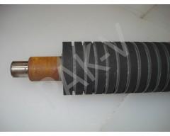 Вал резиновый (передний/верхний) L=600 мм, d=64 мм, на п/м DFR