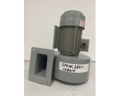 Вентилятор обдува шнека DF-4, 370W, 380V (левый)