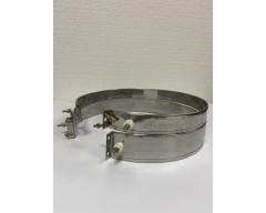 Нагреватель металлический (хомутовый), 280х100 мм