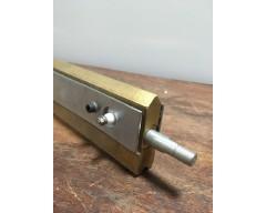 Нож-паяльник, латунный L=1300*88мм