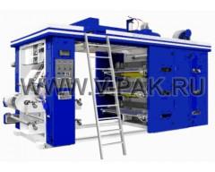 Флексографическая печатная машина GYT-4-800